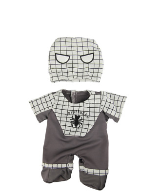 Spiderbear Grey Teddy bear clothes