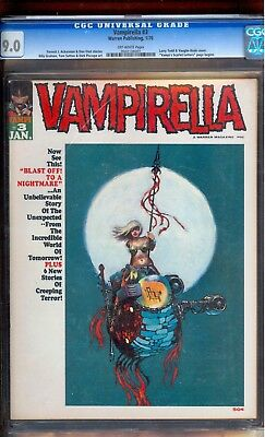 Vampirella #3 Cgc 9.0 *rare Issue Unpressed*  Thor Ragnarok Auction In Progress