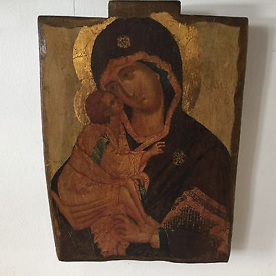 "Beautiful Icon "" Mother of God by Don "" donskaja After Feofan Grek"