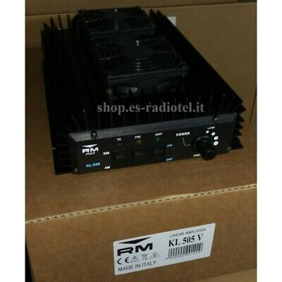Broad Band Linear Amplifier RM Italy KL505V