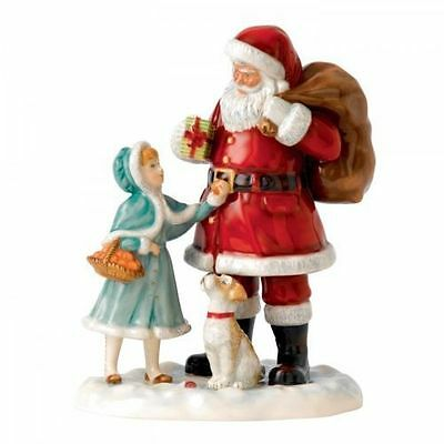 Royal Doulton A Gift for Santa HN5733 Father Christmas 2015 Brand New in Box
