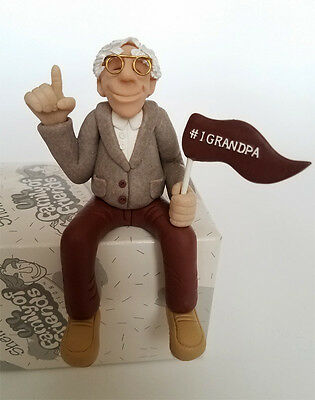 Diane Manning  #1 GRANDPA Shelf Sitter Limited Edition Figurine Collectible NEW