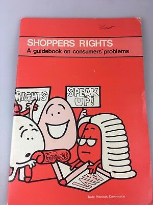 Shoppers Rights Book - Guidebook On Consumer's Problems - 1979 Australia