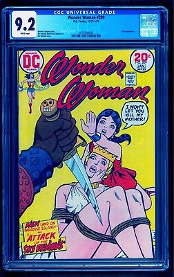 Wonder Woman 209 Cgc 9.2  Justice League *see Our Thor Ragnarok No Res Auctions*