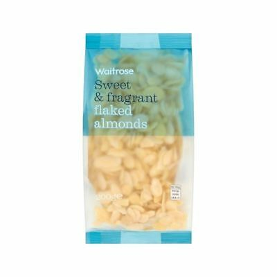 Flaked Almonds Waitrose 200g