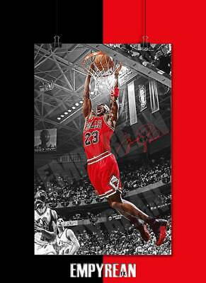 6787d91dc9a MICHAEL JORDAN POSTER The Final Frontier Space 32 X 21.5 Inches - As ...