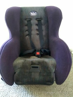 Mother's Choice Baby And Child Convertible Car Seat Blue Grey