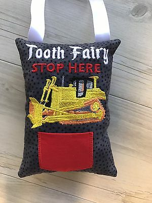 Tooth Fairy Pillow Dozer Handmade Novelty Birthday Gift Lost tooth