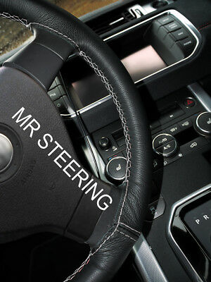 FOR BMW E63 03-10 BLACK PERFORATED LEATHER STEERING WHEEL COVER M3 ////// STITCHING