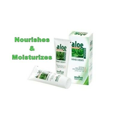 HAND CREAM ALOE VERA UNIQUE Nourishes and Moisturizes 75ml