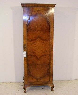 Good Quality Antique Figured Walnut Single Wardrobe
