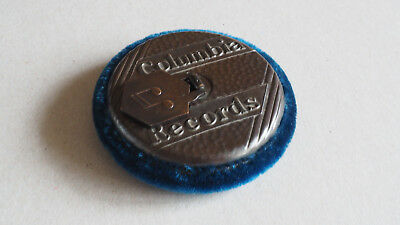 Columbia Record Co. Gramophone record cleaning pad