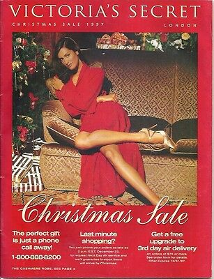 ee -  Christmas 1997 Victoria's Secret Catalog Karen Mulder Tyra Banks