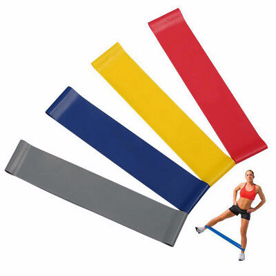 Resistant Loop Exercise Bands Workout Fitness Yoga Crossfit Strength QE2