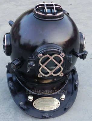 Scuba Mark V Divers Helmet Us Navy Deep Water Diving Helmet 18