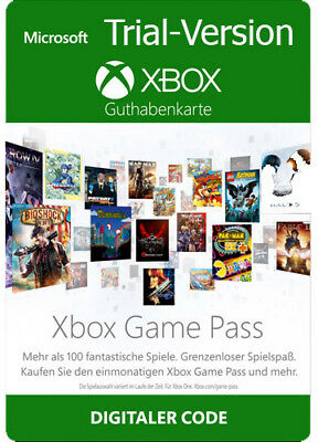 XBOX GAME PASS 1 MONAT MITGLIEDSCHAFT CD Key XBOX LIVE ONE 360 CODE 1 MONTH