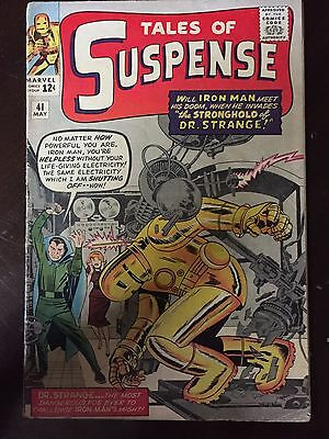 Tales Of Suspense #41 3rd Iron Man Appearance