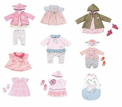 "Zapf Creation Baby Annabell Deluxe Clothes Outfit Sets For 18"" / 46cm Dolls"