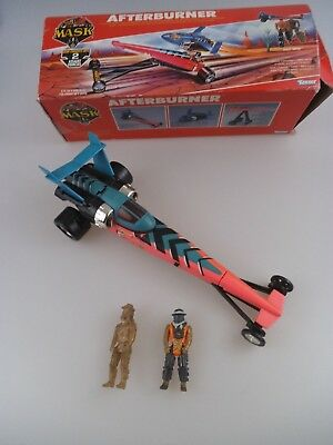 MASK Afterburner mit Dusty Hayes in OVP Kenner 1985 (1234)