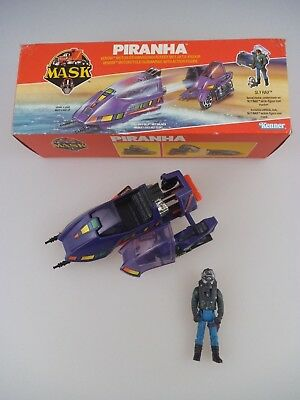 MASK Piranha mit Sly Rax in OVP Kenner 1985 (1271)