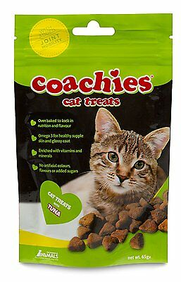Company of ANIMAUX Coachies chat FRIANDISE Avec thon 65g