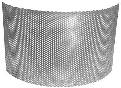 ABC Universal Screens for Hammer Mill, Mild Steel, 1/8 inch