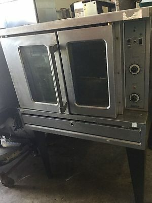 Commercial Convection single Oven - gas