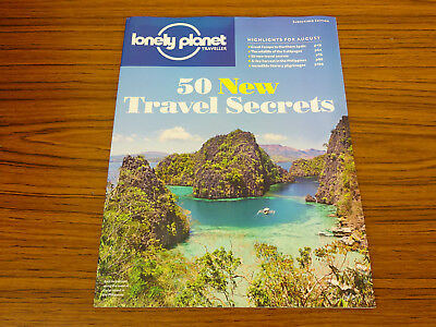 Lonely Planet Magazine: Aug 2015: Galapagos, Northern Spain, Philippines