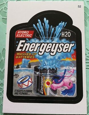 Wacky Packages Topps Card All New Series 3 2006 Energeyser Hydro Electric #52