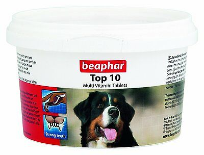Beaphar Top 10 Hund Multivitamin Tabletten 180 tablets / 117g