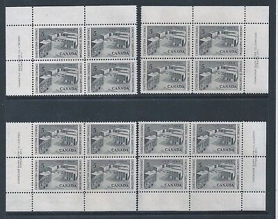 Canada #431 Charlottetown Conference Matched Set Plate Block MNH *Free Shipping*