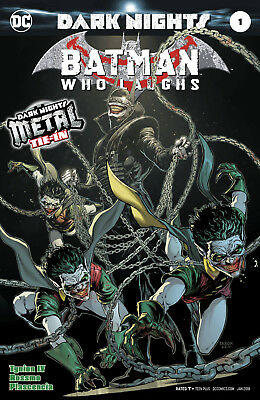 BATMAN WHO LAUGHS #1 with a foil stamped cover (METAL) - DC - ENGLISCH - D492