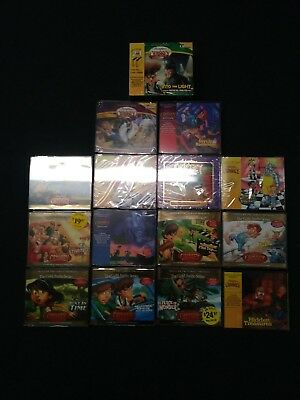 Lot Of 16 Adventures In Odyssey Audio Books!!  Brand New In Original Packaging