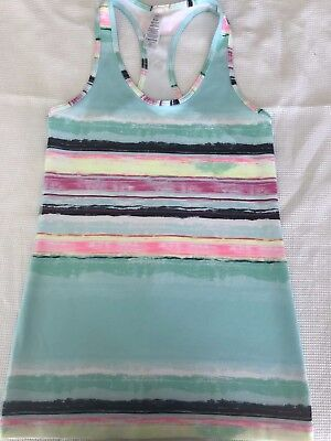 IVIVVA  girls Pink, blue, multi-colored tank size 10