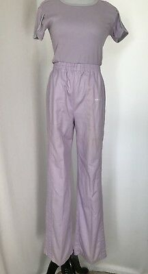 Vtg Ladies Track And Court Pants And Top Size M Lavender