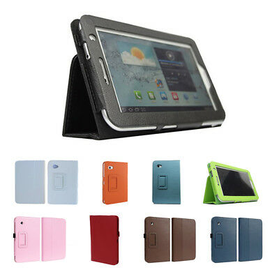 H1 Leather Case for 7-Inch for Samsung Galaxy Tab 2 P3100/P3110 Black