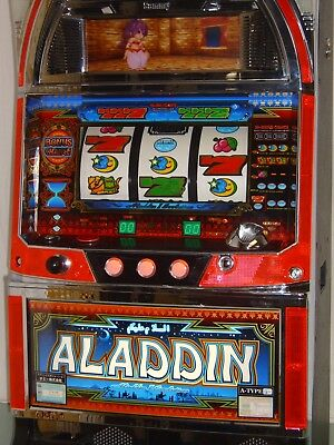 Slot Machine - Aladdin Evolution -  Japanese Pachislo Token Slot Machine