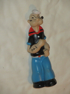 Popeye The Sailor Squeeze Toy 1979 Vtg Figure King Features Syndicate Cribmates