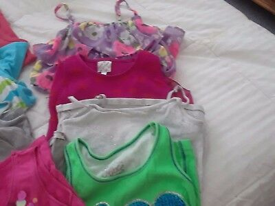 21 Girls Tank Tops, Size 8 And 10, Good Condition, Some Fancy, Some Solids