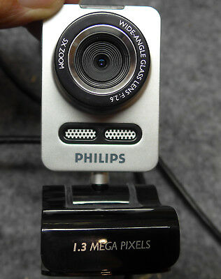 PHILIPS SPC 1030NC/00 WEBCAM 1,3 Megapixel f2,6, Zoom 5fach