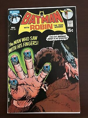 DC Comics Batman With Robin #231 (1971) Very Good