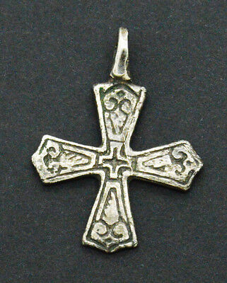 Medieval Viking period Silver Christian Cross pendant lot