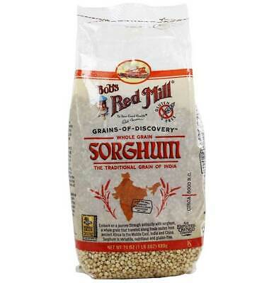 Bobs Red Mill Whole Grain Sorghum - 24 Oz - Pack of 4