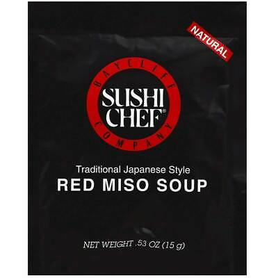 Sushi Chef Red Miso Soup Traditional Japanese Style - .53 OZ (Pack 12)