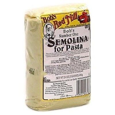 Bobs Red Mill Semolina Pasta Flour - 24 OZ (Pack 4)