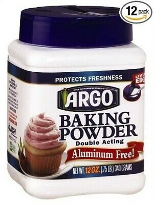 Argo Aluminum Free Baking Powder - 12 OZ (Pack 12)
