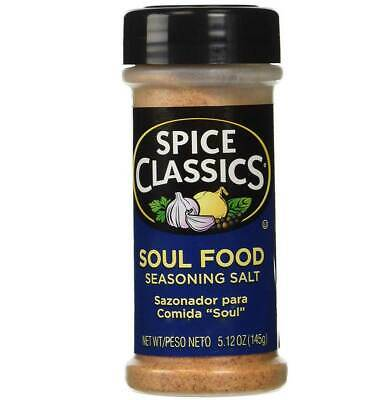 Spice Classics Soul Food Seasoning Salt - 5.12 Oz - Pack of 2