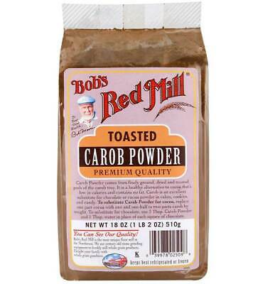 Bobs Red Mill Carob Powder, Toasted 18 OZ