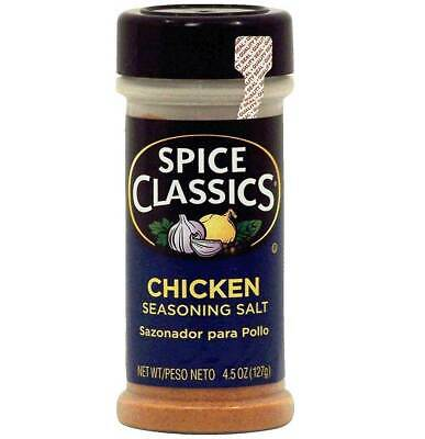 Spice Classics Chicken Seasoning Salt - 4.5 Oz - Pack of 1