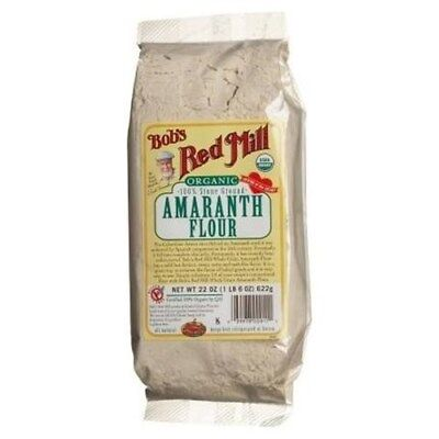 Bobs Red Mill Stone Ground Amaranth Flour - 22 OZ (Pack 4)